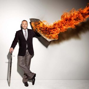 Flame Stunts with Brett Wilson