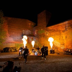 Gas Flame Music Video Shoot