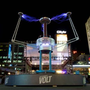 High Voltage Tesla Coil build for Chevy Vold Launch