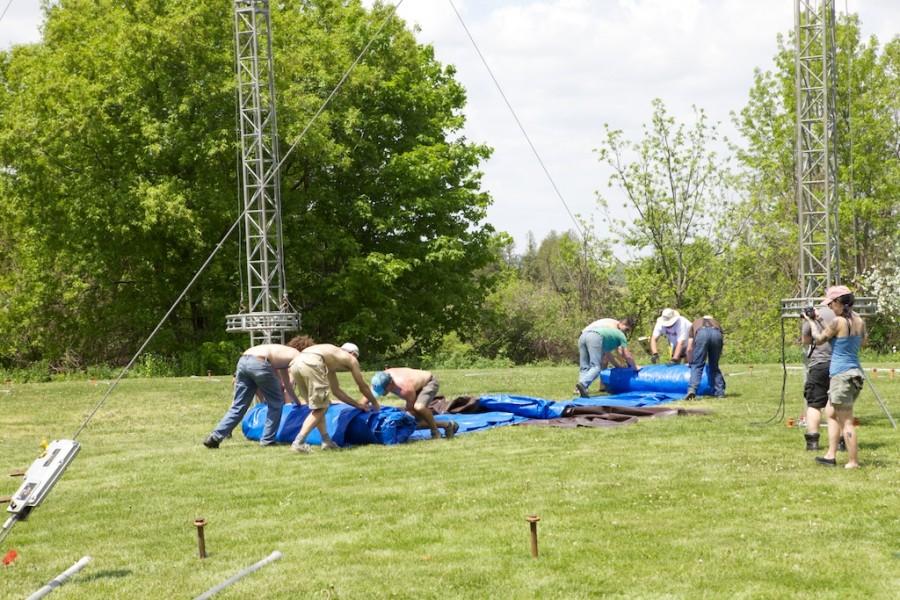 Circus Tent Build & Circus Tent Build | Danger Boy Blog