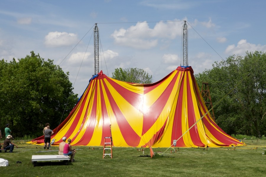 circus tent circus rigging circus tent raising circus tent erection circus & CIRCUS TENT BUILD u2013 Old School Circus Rigging u2013 DangerBoy