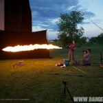 flame, gas flame, flame thrower, fire ball, photoshoot, Allan Davey Photography, propane, dragon, gas bomb