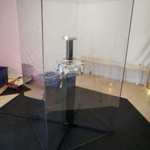 Marina Abramović, Luminato Festival, Tom Comet, tesla coil, tesla, Nikola Tesla, high voltage, HVFX, stunt, high voltage stunt, Prototype, Toronto