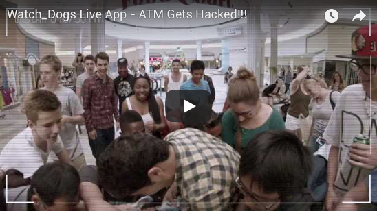 "WATCH DOGS ""CRACKED FOR CASH"" ATM STUNT"