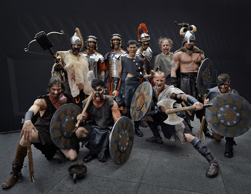 xbox, xbox one, next generation, console, ryse, ryse: son of rome, spfx, pyro, pyrotechnic arrows, blood, romans, barbarians, stunts, fire, promo, launch