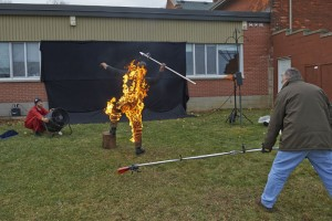 danger boy, dragon, explosion, fire, fire ball, flame, gas bomb, liquid flame, propane, special effects, spfx, stunt, stunt choreography, stunt coordinator, stunts, Tom Comet, Photoshop, photoshoot, flame thrower, Allan Davey Photography, art