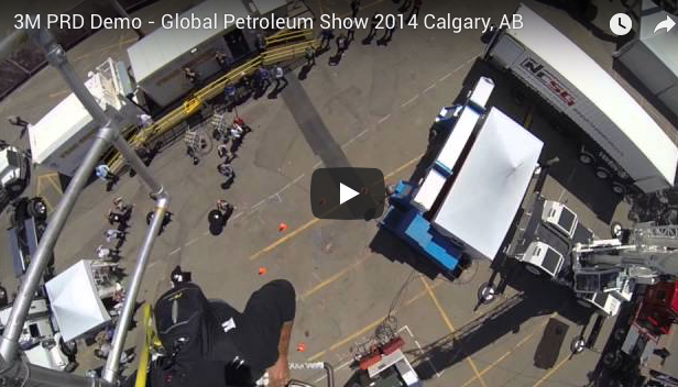 3M PRD DEMO @ GLOBAL PETROLEUM SHOW, CALGARY AB