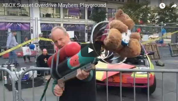 SUNSET OVERDRIVE MAYHEM PLAYGROUND