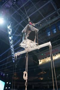 winch fly gag rotate head
