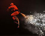 Performer with Stage Gerb - Circus Orange's Show, Circus Spectacle - Bahrain